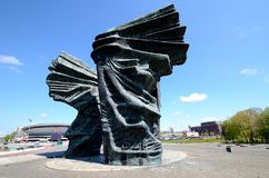 Silesian Insurgents Monument in Katowice Royalty Free Stock Images