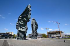 Silesian Insurgents Monument in Katowice Royalty Free Stock Photography