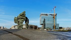 Silesian Insurgents` Monument Royalty Free Stock Photography