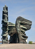 Silesian Insurgents Monument is located in the center Katowice ( Royalty Free Stock Images