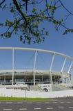 Silesian National Stadium. Chorzow, Silesia, Poland - April 21, 2018: Silesian National Stadium after full renovation stock photos