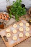 Silesian potato dumplings Stock Images