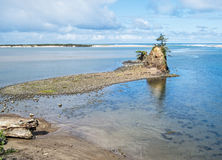 Siletz Bay, Oregon Stock Image