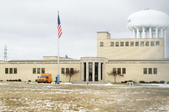 Silex, Michigan : Ville de Flint Water Plant Photos libres de droits