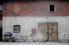 Silezisch dorp Stock Foto