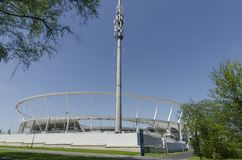 Silezisch Nationaal Stadion Royalty-vrije Stock Foto's