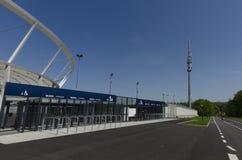 Silezisch Nationaal Stadion Royalty-vrije Stock Foto