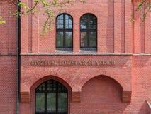 Silezisch Opstandenmuseum stock afbeelding