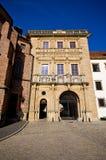 Silezisch Piast-Dynastiekasteel in Brzeg, Polen royalty-vrije stock fotografie