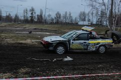 Silezisch Wrack ras stock foto