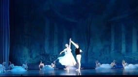 Silfos del ballet clásico almacen de metraje de vídeo