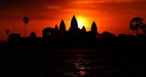 Angkor Wat at the sunrise