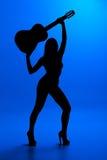 Silhouet Stock Afbeelding