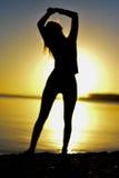 Silhouet Stock Foto