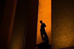 Silhouet Royalty-vrije Stock Foto