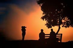 Silhouet Stock Fotografie