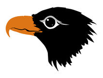 Silhouet van adelaar vector illustratie