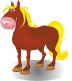 Silhouet van een paard Stock Fotografie