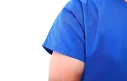 Silhouet van mannelijke arts Stock Foto's