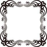 Sier kader Royalty-vrije Stock Afbeeldingen