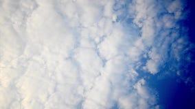 Silhouet vrije agenten die Parkour op blauwe trillende hemel doen stock video