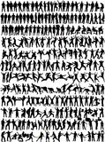 silhouett человека 245 собраний бесплатная иллюстрация