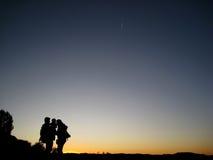 Silhouette Stock Image
