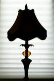 silhouette Royaltyfri Fotografi