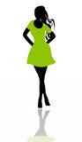 silhouette Stock Illustrationer