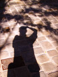Silhouette Image stock