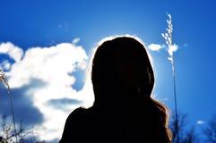silhouette Arkivfoton