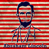 Silhouette Abraham Lincoln Royalty Free Stock Photography
