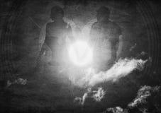 Silhouette abstraite Photo stock