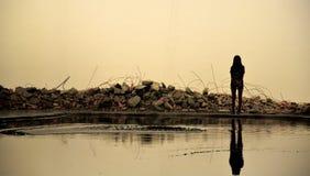 Silhouette abstraite urbaine images libres de droits