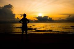 Silhouette av kvinnor Royaltyfria Foton