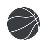 Silhouette basket ball sport symbol icon. Illustration eps 10 Royalty Free Stock Photo
