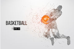 Silhouette of a basketball player. Vector illustration vector illustration