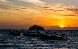 Sea sunrise Royalty Free Stock Photo