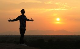 Sunset Shadow Boy Stock Images Download 2811 Royalty Free Photos