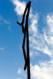 Silhouette of Christ Royalty Free Stock Photo