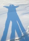 Silhouette of couple Stock Photo