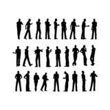 Silhouette d'homme Photos libres de droits