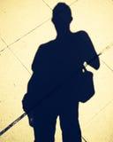 Silhouette d'homme Images libres de droits