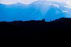Silhouette d'Urbino photos libres de droits
