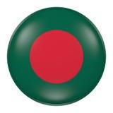 Silhouette de bouton du Bangladesh Photo libre de droits