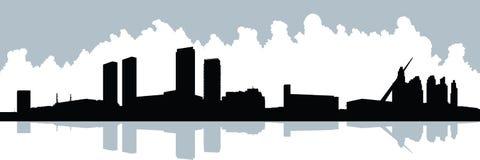 Silhouette de Buenos Aires illustration de vecteur