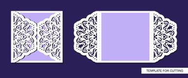 Silhouette de carte de voeux illustration libre de droits