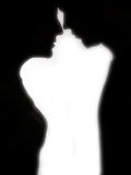 Silhouette de couples Image stock