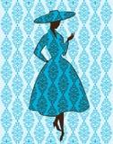Silhouette de cru de fille. Images libres de droits