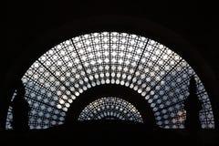 Silhouette de fenêtre Photographie stock libre de droits